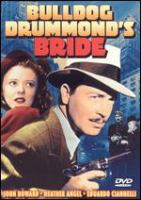 Cover image for Bulldog Drummond's bride