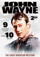 Cover image for John Wayne 9 feature films.