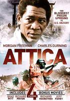 Cover image for Attica includes 4 bonus movies.