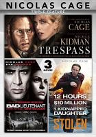 Cover image for Nicolas Cage triple feature