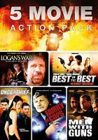 Imagen de portada para 5 movie action pack