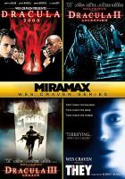 Cover image for Miramax Wes Craven series