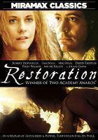Cover image for Restoration