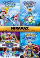 Cover image for Pokaemon 4ever Pokaemon heroes, the movie ; Pokemon destiny deoxys, the movie ; Pokemon jirachi, wish maker