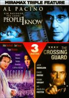 Cover image for People I know Deception ; The crossing guard