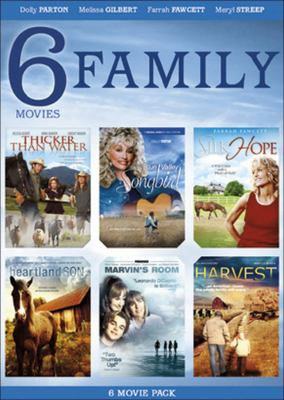 Cover image for 6 family movies