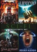 Cover image for Sci-Fi 4 films collector's set T-Force : Lifepod : Star knight : Final patient.