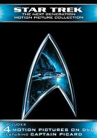 Cover image for Star trek, the next generation motion picture collection