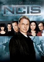 Cover image for NCIS, Naval Criminal Investigation Service The complete second season