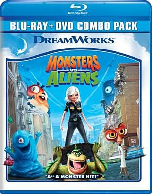 Cover image for Monsters vs aliens
