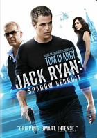 Cover image for Jack Ryan shadow recruit