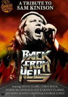 Cover image for Back from hell tribute to Sam Kinison