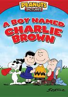 Cover image for A boy named Charlie Brown