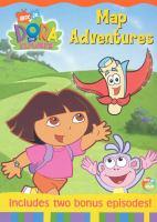 Imagen de portada para Dora the explorer Map adventures