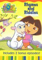 Imagen de portada para Dora the explorer Rhymes and riddles