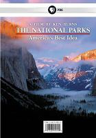 Cover image for The national parks America's best idea
