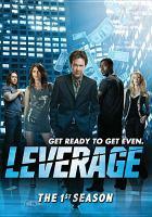 Imagen de portada para Leverage The 1st season.
