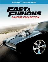 Cover image for Fast & furious 8-movie collection