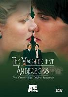 Imagen de portada para The magnificent Ambersons
