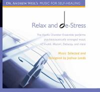Cover image for Relax and de-stress
