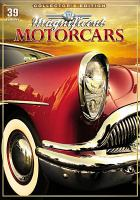 Cover image for Magnificent motorcars