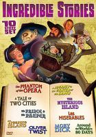 Cover image for The greatest tales ever told. Volume 2, incredible stories