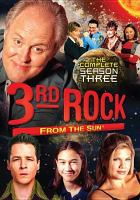 Cover image for 3rd rock from the sun. The complete season three
