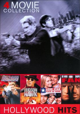 Cover image for 4 movie collection Hollywood homicide ; Hudson Hawk ; Lone Star State of mind ; The fan.