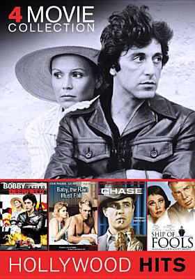 Cover image for 4 movie collection Bobby Deerfield ; Baby, the rain must fall ; The chase ; Ship of fools.