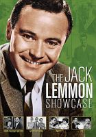 Cover image for The Jack Lemmon showcase
