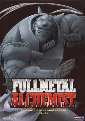Cover image for Fullmetal alchemist The complete second season
