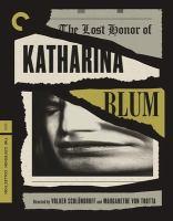 Imagen de portada para The lost honor of Katharina Blum