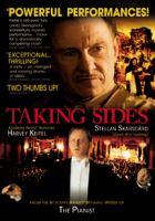 Cover image for Taking sides der Fall Furtwängler