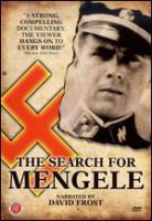 Cover image for The search for Mengele