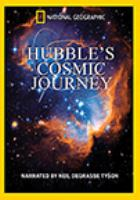 Cover image for Hubble's cosmic journey