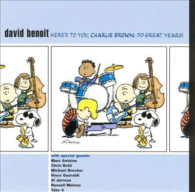Cover image for Here's to you, Charlie Brown 50 great years!