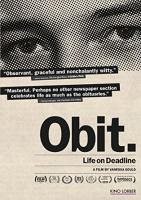 Cover image for Obit an inside look at life on the New York Times obituaries desk