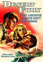 Cover image for Desert fury