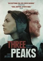 Cover image for Three peaks