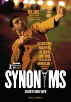 Cover image for Synonymes = Synonyms