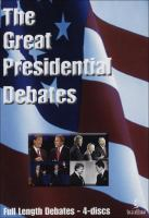 Cover image for The great Presidential debates