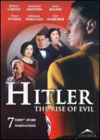 Cover image for Hitler : the rise of evil