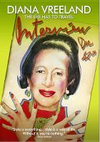 Cover image for Diana Vreeland the eye has to travel