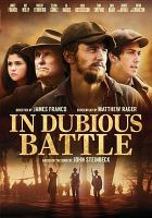 Cover image for In dubious battle