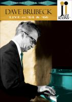 Cover image for Dave Brubeck live in '64 & '66