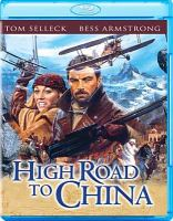 Cover image for High road to China