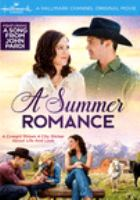 Cover image for A summer romance