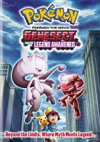 Cover image for Pokemon the movie Genesect and the legend awakened