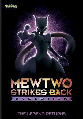 Cover image for Pokemon Mewtwo strikes back, Evolution.