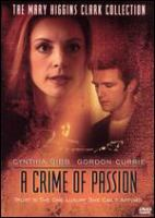 Cover image for A crime of passion